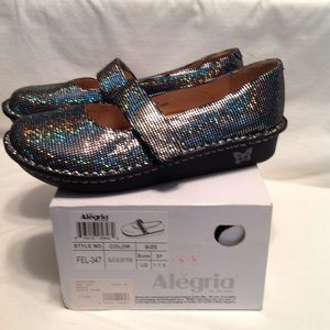 Algeria women's Felic shoe - black silver prism